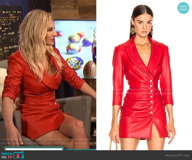 Willa Dress by Retrofete worn by Morgan Stewart  on E! News