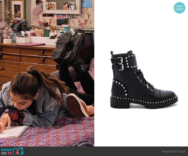 Sam Edelman Jennifer Boots worn by Nick (Siena Agudong) on No Good Nick