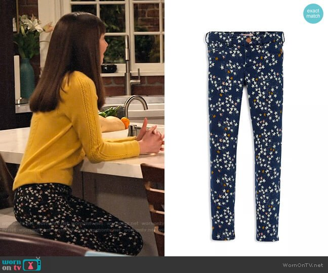 Scotch R'belle Girls' Star-Print Skinny-Fit Pants worn by Molly (Lauren Lindsey Donzis) on No Good Nick
