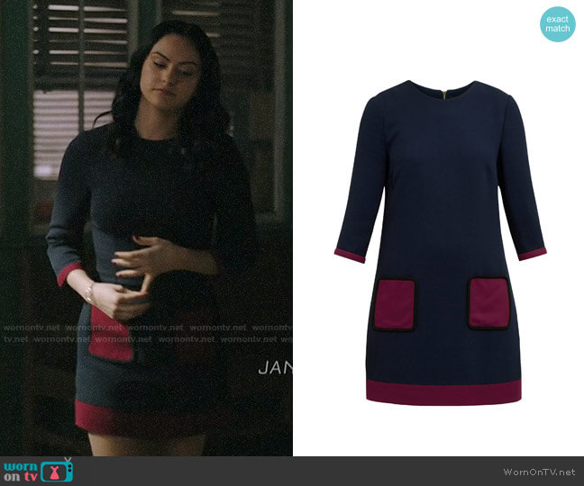 Ted Baker Aor Dress worn by Veronica Lodge (Camila Mendes) on Riverdale