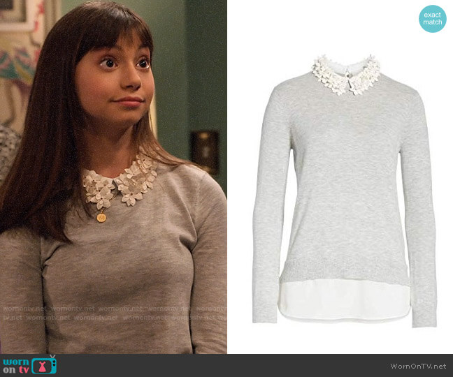Ted Baker Nansea Sweater worn by Molly (Lauren Lindsey Donzis) on No Good Nick