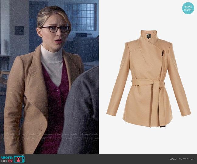 Ted Baker Rytaa Coat worn by Kara Danvers (Melissa Benoist) on Supergirl