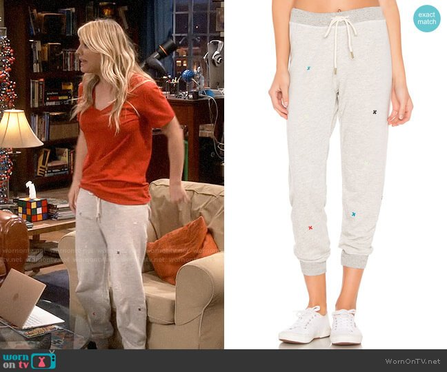The Great The Cropped Sweatpants worn by Penny Hofstadter (Kaley Cuoco) on The Big Bang Theory