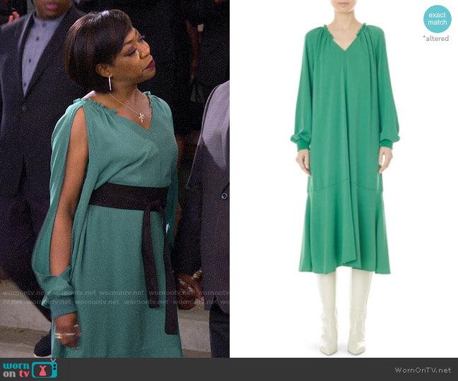Tibi Savanna Dress worn by Tina (Tichina Arnold) on The Neighborhood