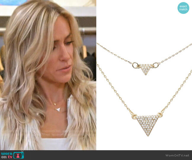Uncommon James Gulch and Houston Station Necklaces worn by Kristin Cavallari  on Very Cavallari