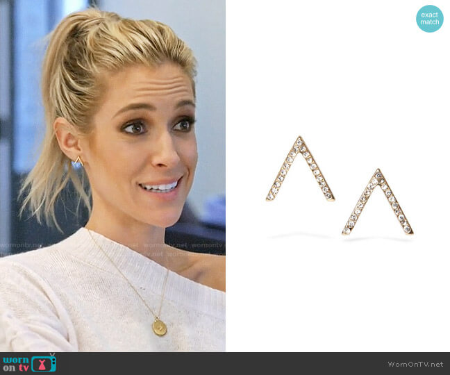 Uncommon James Little Studs worn by Kristin Cavallari  on Very Cavallari