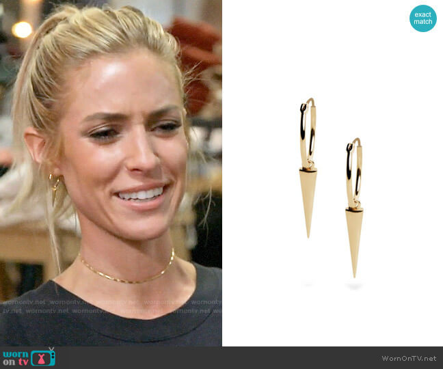 Uncommon James Sharp Shooter Earrings worn by Kristin Cavallari  on Very Cavallari
