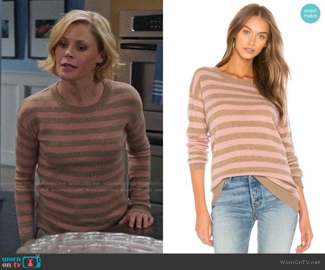 Velvet by Graham & Spencer Cath Striped Sweater worn by Claire Dunphy (Julie Bowen) on Modern Family
