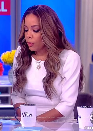 Sunny's white dress on The View