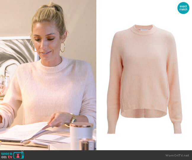 3.1 Phillip Lim Ribbed Trim Sweater worn by Kristin Cavallari (Kristin Cavallari) on Very Cavallari