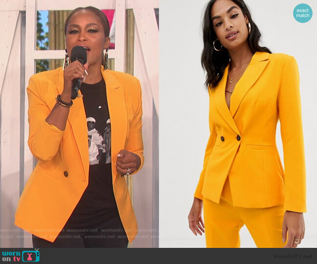 Pop Suit Blazer by ASOS worn by Eve  on The Talk