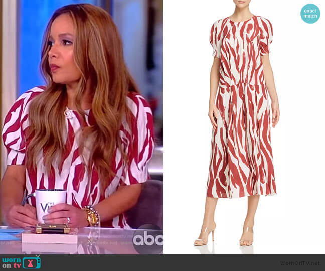 Dahlia Maxi Dress by Anine Bing worn by Sunny Hostin  on The View