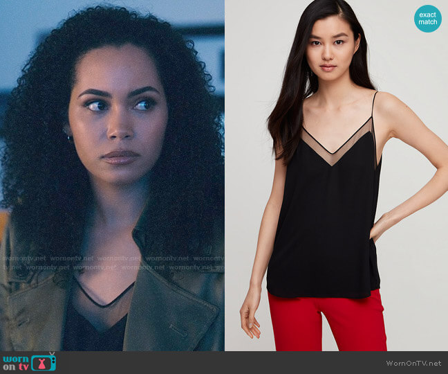 Aritzia Galen Camisole worn by Macy Vaughn (Madeleine Mantock) on Charmed
