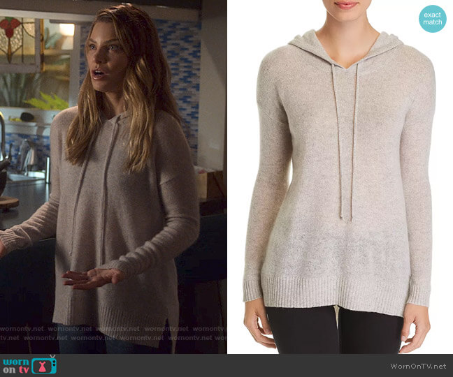 Lucifer Boo Normal: WornOnTV: Chloe's Grey Hooded Sweater On Lucifer