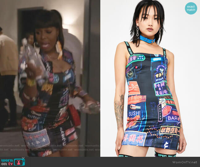 Midnight City Bodycon Dress by Current Mood worn by Porsha Taylor (Ta'Rhonda Jones) on Empire