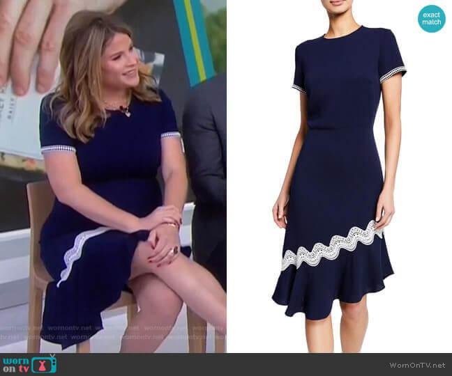 Dinan Dress by Shoshanna worn by Jenna Bush Hager  on Today