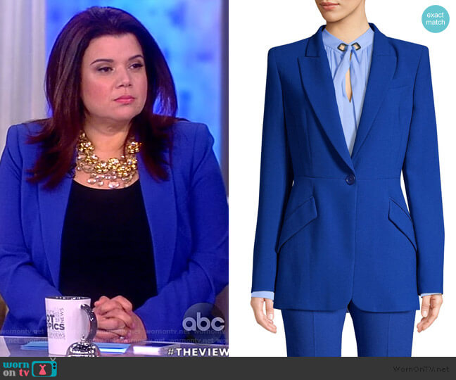 Madison Blazer by Elie Tahari worn by Ana Navarro  on The View