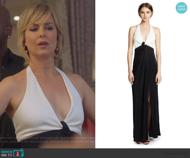 Eclipse Gown by Galvan London worn by Jacqueline (Melora Hardin) on The Bold Type