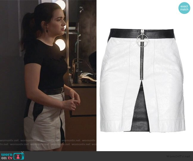 Mini Skirt by Givenchy worn by Jane Sloan (Katie Stevens) on The Bold Type