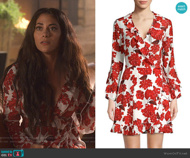 Lucifer Boo Normal: WornOnTV: Eve's White Floral Ruffled Dress On Lucifer