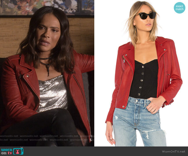 Han Jacket by IRO worn by Mazikeen (Lesley-Ann Brandt) on Lucifer