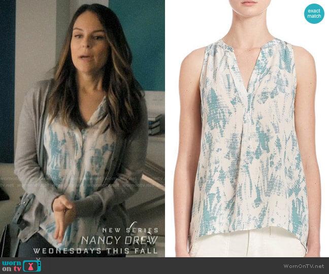 Joie Aruna Top in Tie Dye Print worn by Luisa Alver (Yara Martinez) on Jane the Virgin