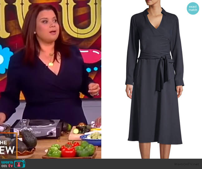 Andie Belted A-Line Dress by Kobi Halperin worn by Ana Navarro  on The View