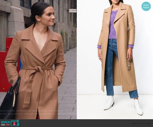 Belted Coat by Liu Jo worn by Jane Sloan (Katie Stevens) on The Bold Type