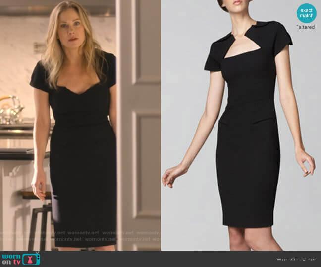 Myrtha Dress by Roland Mouret worn by Jen Harding (Christina Applegate) on Dead to Me
