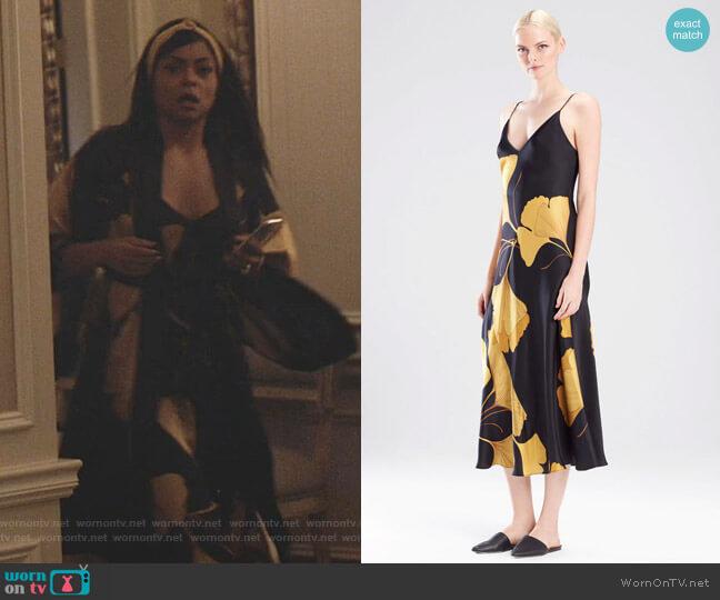 Ginkgo Gown by Josie Natori worn by Cookie Lyon (Taraji P. Henson) on Empire