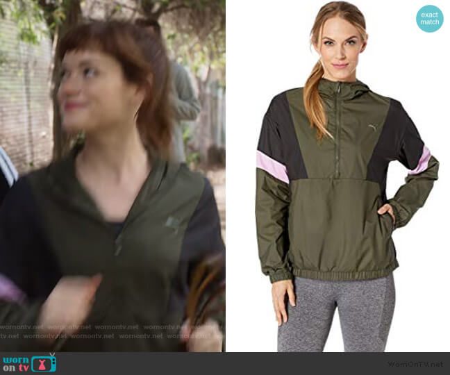 ACE Jacket by Puma worn by Lisa Donovan (Jane Levy) on What/If