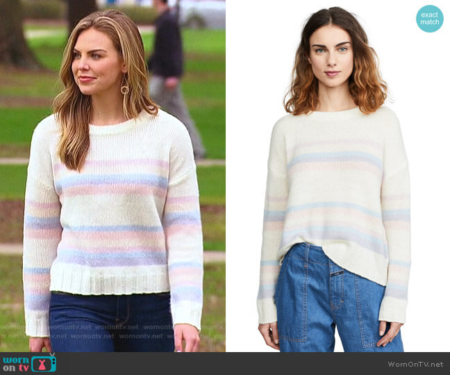 Lani Sweater by Rails worn by Hannah Brown  on The Bachelorette