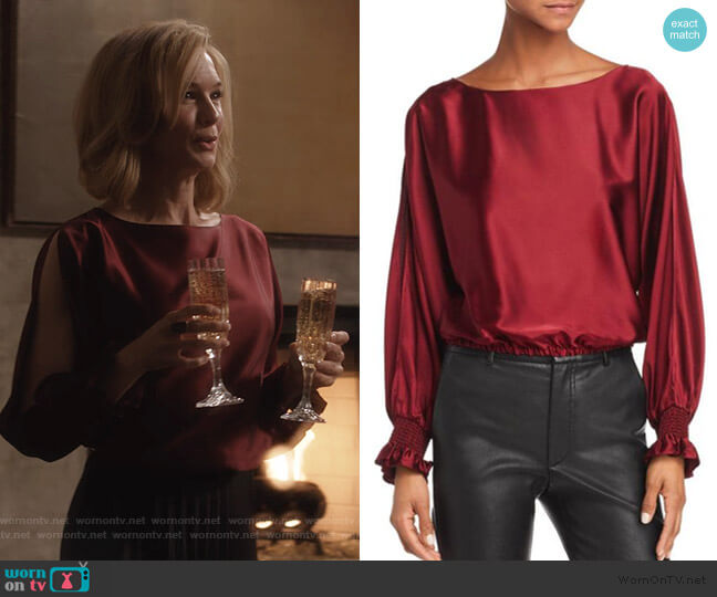Adena Top by Ramy Brook worn by Anne Montgomery (Renee Zellweger) on What/If