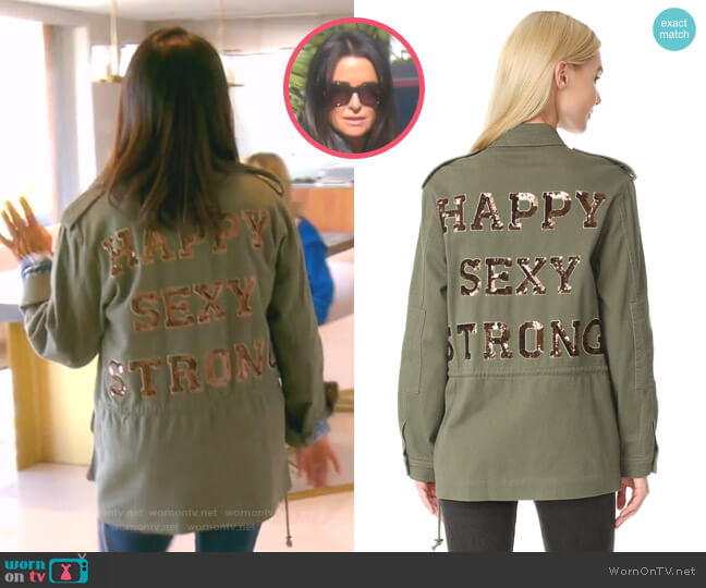 Embellished James Jacket by Ramy Brook worn by Kyle Richards  on The Real Housewives of Beverly Hills