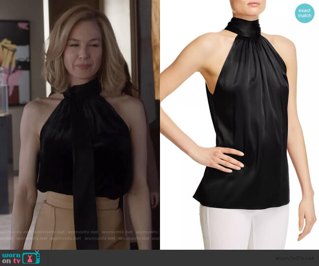 Paige Blouse by Ramy Brook worn by Anne Montgomery (Renee Zellweger) on What/If