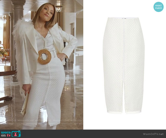 Turnley Pencil skirt by Roland Mouret worn by Dominique Deveraux (Michael Michele) on Dynasty