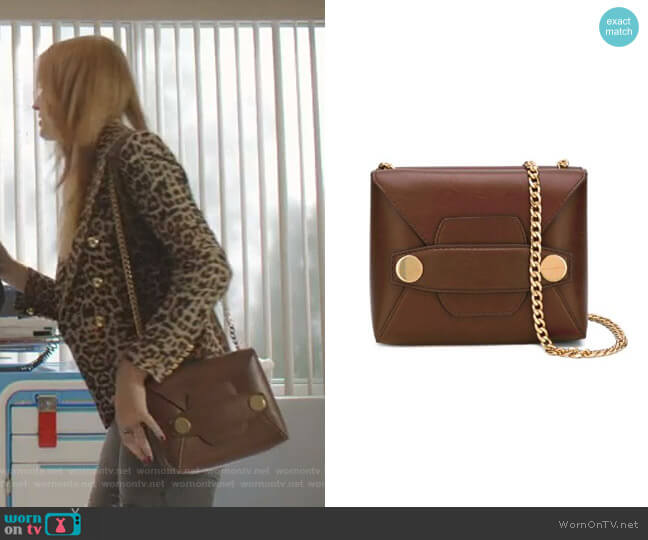 Stella Popper Shoulder Bag by Stella McCartney  worn by Kirby Anders (Maddison Brown) on Dynasty