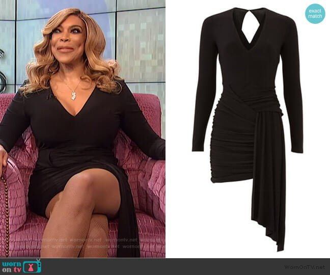 Morello Dress by Stylestalker worn by Wendy Williams  on The Wendy Williams Show