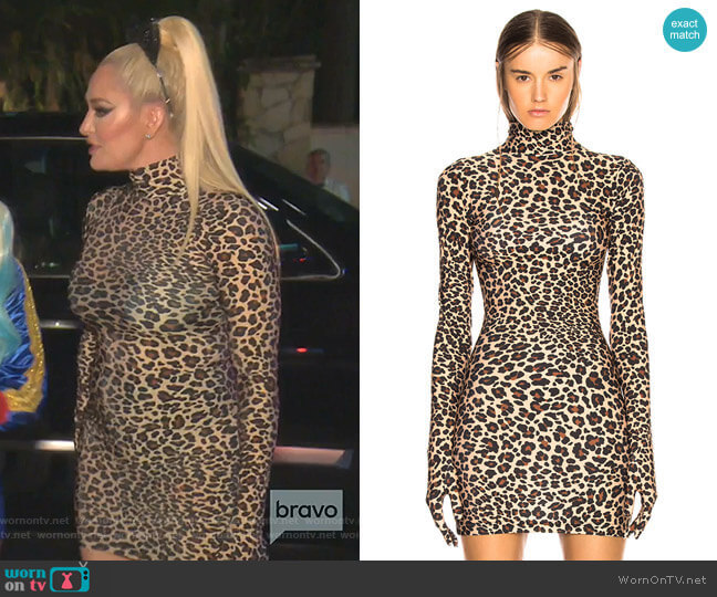The Styling Dress by Vetements worn by Erika Girardi  on The Real Housewives of Beverly Hills