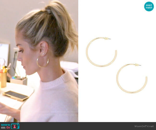Uncommon James Demonbreun Earrings worn by Kristin Cavallari (Kristin Cavallari) on Very Cavallari