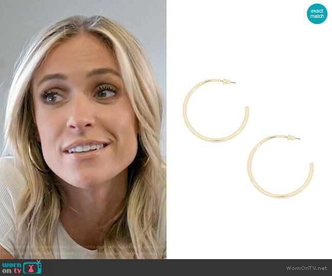 Uncommon James Demonbreun Earrings worn by Kristin Cavallari  on Very Cavallari