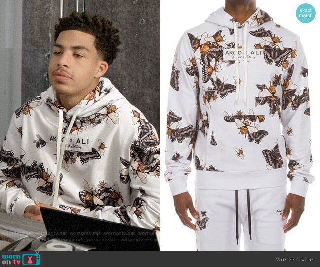 Akoo x Ali Float Hoodie worn by Andre Johnson Jr (Marcus Scribner) on Blackish