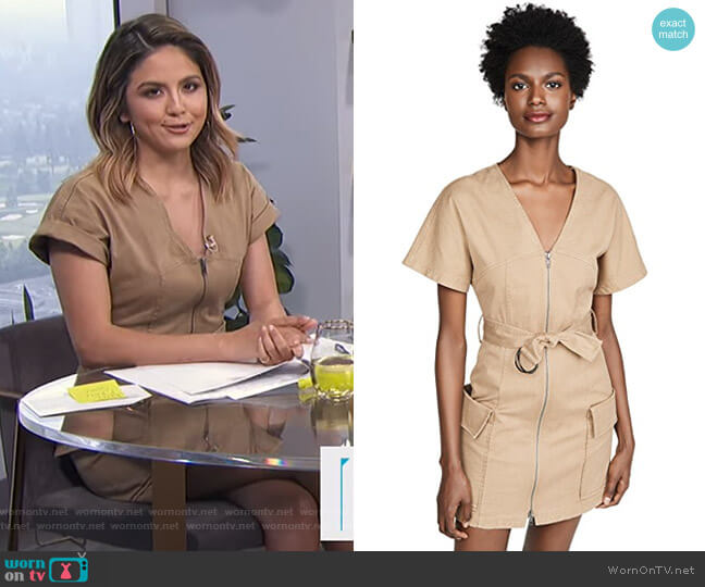 Bellamy Dress by A.L.C. worn by Erin Lim  on E! News