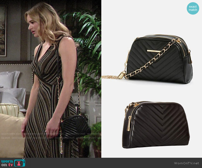 Aldo Dorolora Bag worn by Summer Newman (Hunter King) on The Young & the Restless