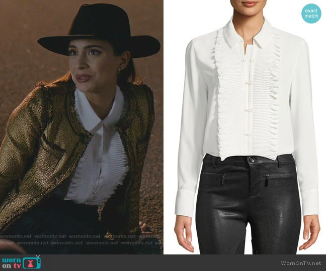 Avette Top by Alexis worn by Cristal Jennings (Ana Brenda Contreras) on Dynasty