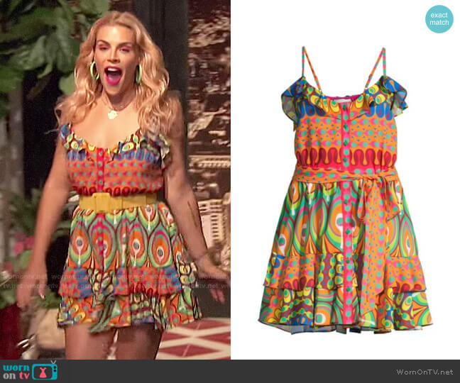 Alexis Sirscha Dress worn by Busy Philipps  on Busy Tonight