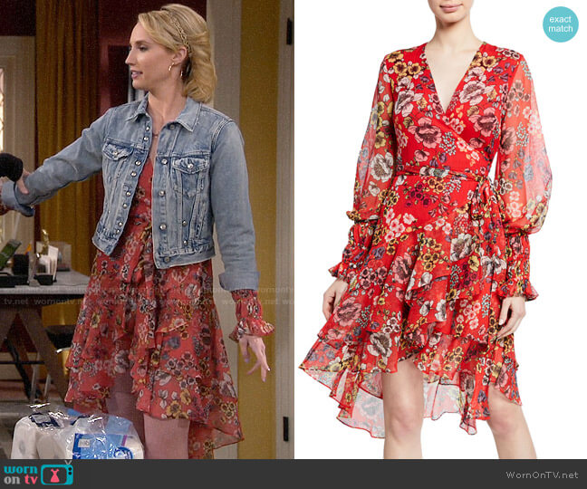 Alexis Sidony Dress worn by Mandy Baxter (Molly McCook) on Last Man Standing