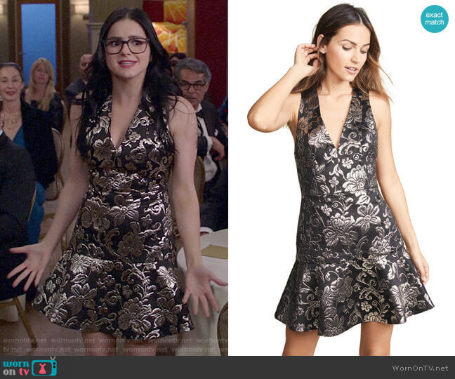Alice + Olivia Marleen Dress worn by Alex Dunphy (Ariel Winter) on Modern Family
