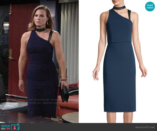 Alice + Olivia Jona Dress worn by Phyllis Newman (Gina Tognoni) on The Young & the Restless