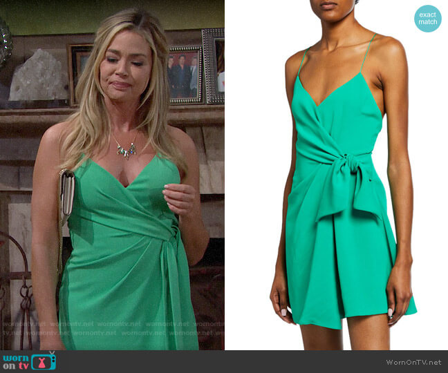 Alice + Olivia Katie Dress worn by Shauna Fulton (Denise Richards) on The Bold & the Beautiful